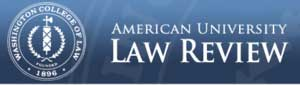Image:  American University Law Review